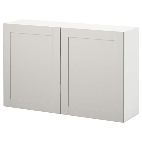 modular kitchen wall cabinets knoxhult wall cabinet with doors grey 120x75 cm ikea