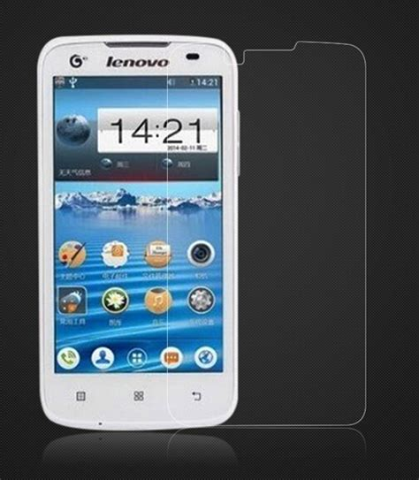 F282 Tempered Glass Lenovo A328 amazing 9h 0 3mm 2 5d nanometer tempered glass screen