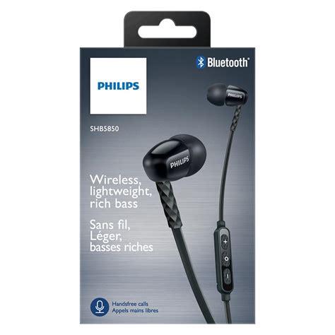 Philips Wireless Bluetooth In Ear Sound Headset Shb5850 Oem Philips Wireless Bluetooth In Ear Wireless