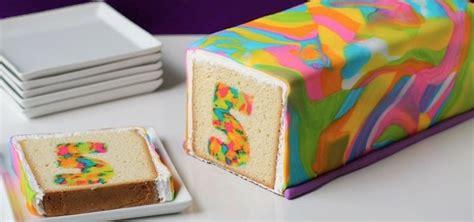 regenbogen kuchen kastenform es sieht total kompliziert aus aber dieser umwerfend