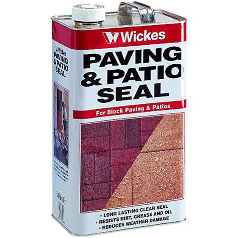 Wickes Patio Sealer wickes paving patio seal 5l clear wickes co uk