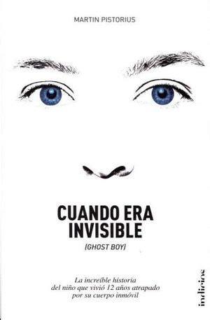 libro the invisible boy libros de indicios editores librerias gonvill s a de c v