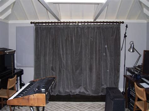 acoustic drape acoustic curtains fitted in hstead north london