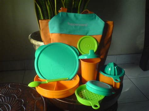 Pisau Set Tupperware our daily rolls perlengkapan mpasi