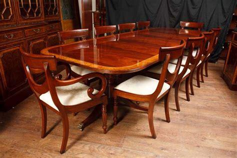 mahogany dining table set mahogany regency dining set pedestal table matching swag chairs