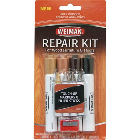 parker bailery wood furniture repair kit filler sticks and woodtone markers maryland weiman repair kit for wood furniture and floors ea