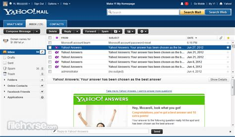 email yahoo web yahoo mail the best web based email free 2015 personal blog