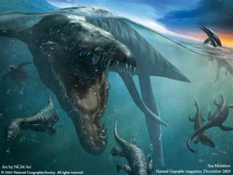 dinosaur sea creatures