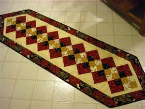 free table runner pattern patterns gallery