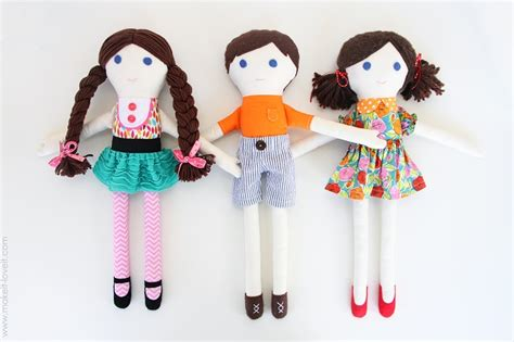 Handmade Doll Tutorial - top 10 toys for your top inspired