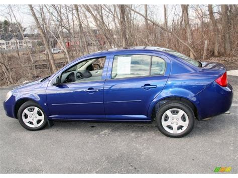 Cobalt Blue Ls by Laser Blue Metallic 2007 Chevrolet Cobalt Ls Sedan