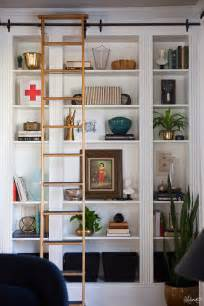 the makerista laura s living room ikea billy bookshelves