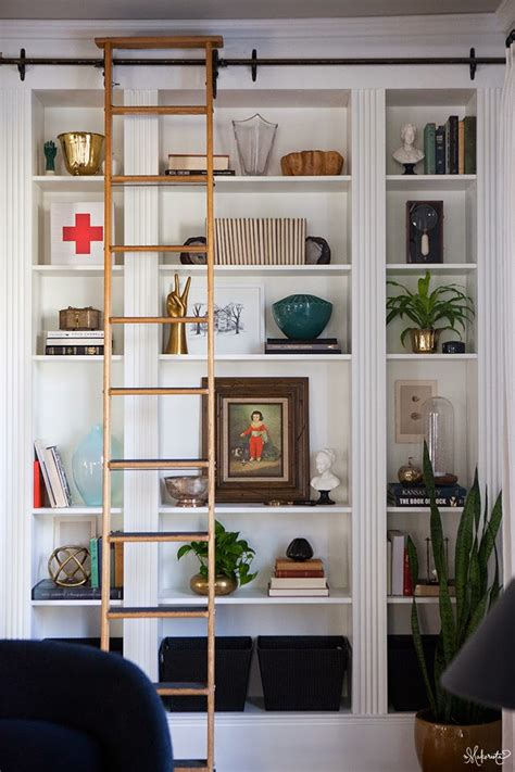 Ikea Bookshelf Hack | the makerista laura s living room ikea billy bookshelves