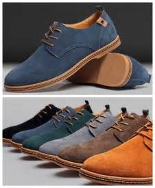 dress casual shoes new mens casual dress formal oxfords flats shoes genuine