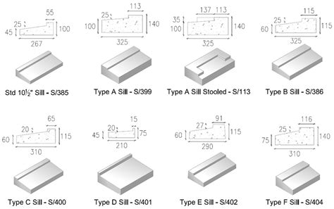 Window Sill Dimensions Window Sills Precast Concrete Window Sills Killeshal
