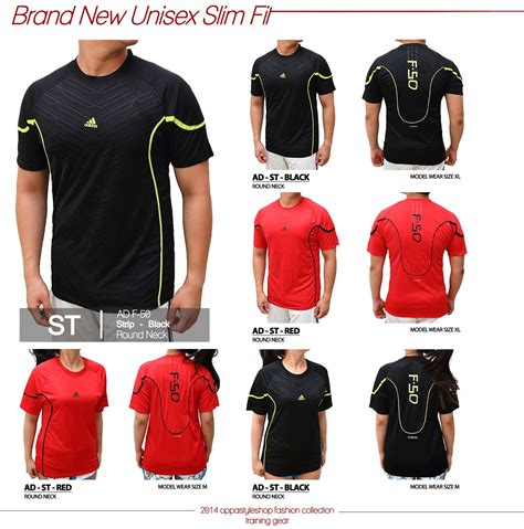 Baju Fitnes Nike New Brand Adidas Nike 100 Authentic Unisex Sports