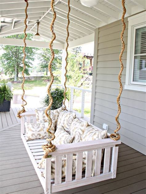 porch hangers garden swing design ideas garden swings hgtv and swings