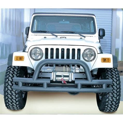 jeep yj winch front bumper with winch cutout jeep cj wrangler yj tj
