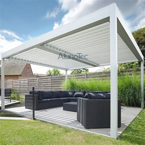 Patio Louvres by Alunotec Aluminum Patio Louver Roof Pergulas Buy Patio