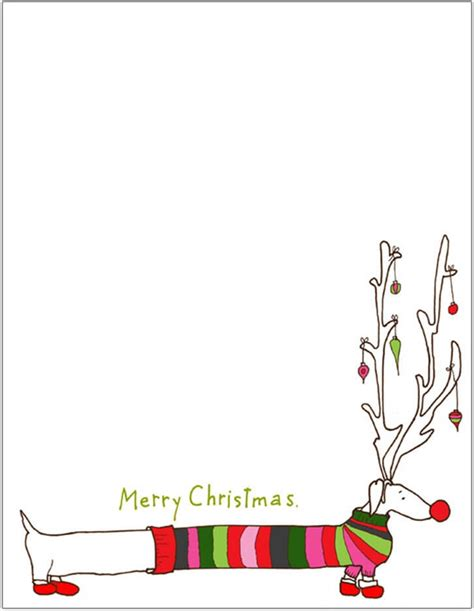 printable christmas letter paper template christmas letter template with photos letter of