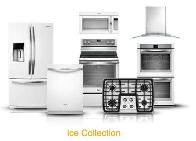 black and white appliance reno whirlpool white ice collection sleek alternative to