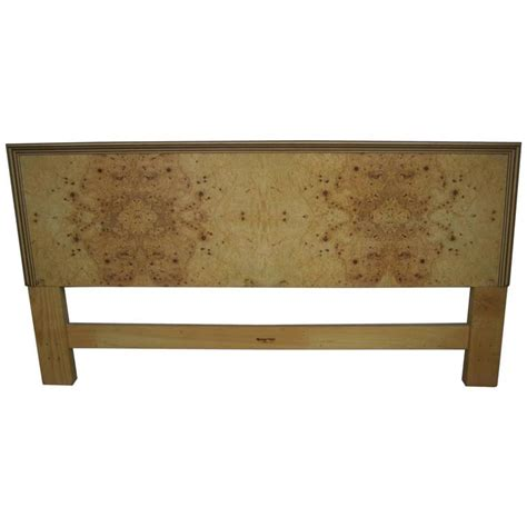 Henredon Headboard by Fabulous Henredon Burled Two King Size Headboard For Sale At 1stdibs