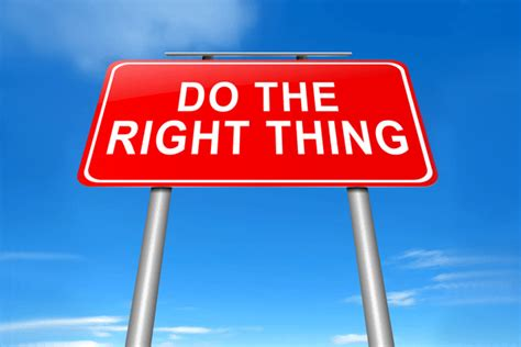 Does The Thing by Doing The Right Thing How To Avoid Reputational Damage