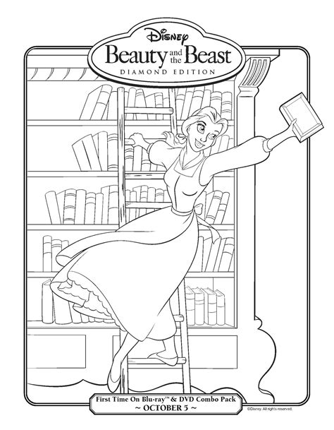 belle reading coloring pages the gallery for gt disney princess coloring pages belle