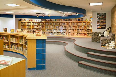 24 best school library design ideas images on pinterest bookshelf ideas library ideas and neshannok elementary school and middle school the