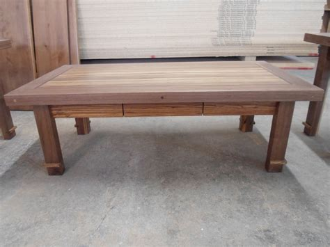 black walnut coffee table handmade zebrawood purpleheart and black walnut coffee
