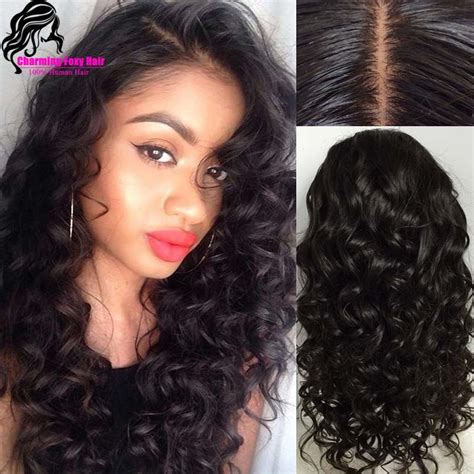 lace front human wet and wavy with invisible part human hair wet and wavy lace front wigs prices of remy hair
