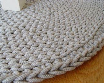 tappeto rotondo grigio grigio cordoncino in cotone tappeto rotondo tappeto