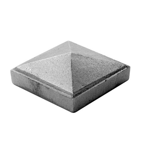cast iron l post cast iron pyramid post cap