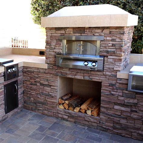 outdoor pizza oven alfresco 30 inch gas outdoor built in pizza oven