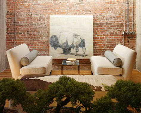 How To Clean An Interior Brick Wall by A Buffalo Painting And Exposed Brick Walls Contrast Nicely