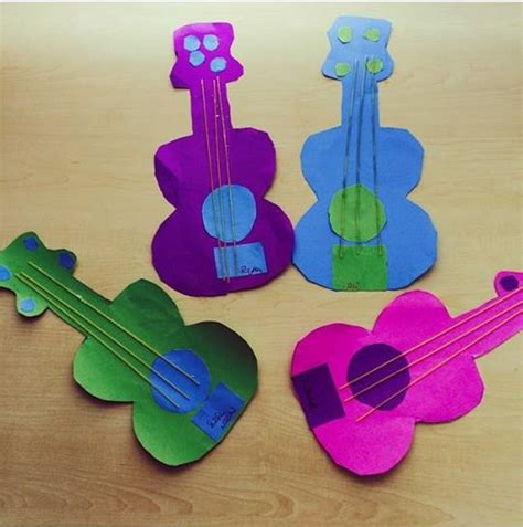musical instruments crafts for musical instruments bulletin board ideas 2 171 preschool