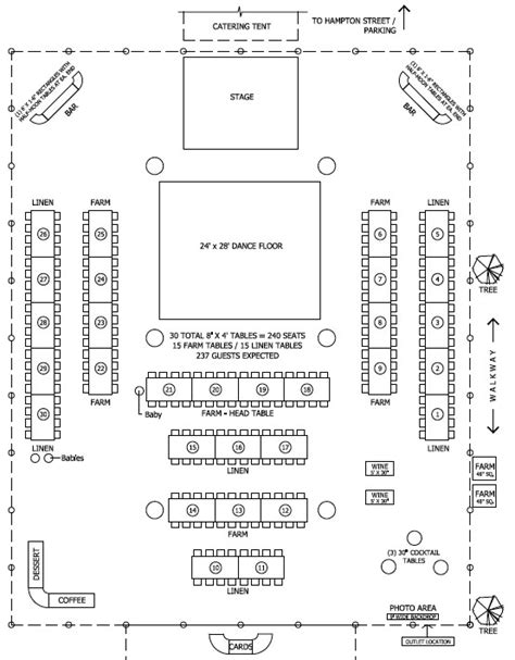 layout of wedding party floor plan for tent barn wedding reception i said quot yes