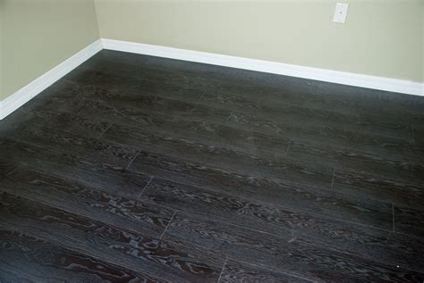 Black Laminate Wood Flooring Black Wood Flooring Black Stained And Satin Sealed