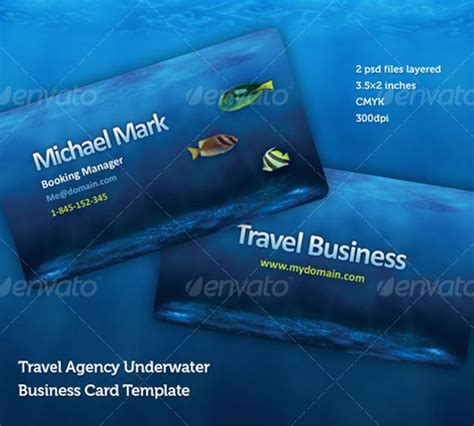 travel agency business card design template 50 cool premium business card templates naldz graphics