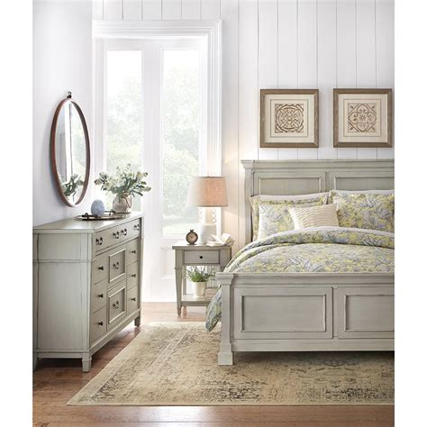 home decorators collection gray furniture the home depot home decorators collection bridgeport antique grey queen