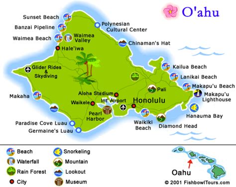 printable road map of hawaii free printable map of oahu you will be driving parallel