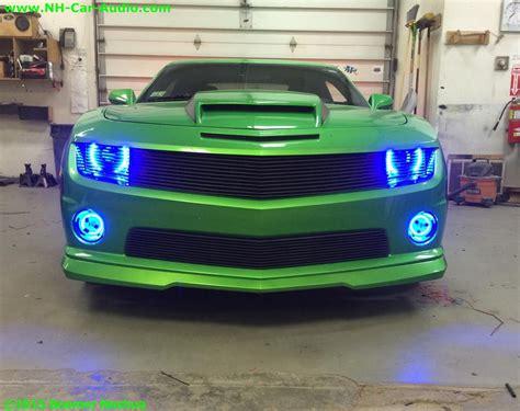 Lu Led Mobil Chevrolet chevy camaro oracle halo led s boomer nashua mobile electronics