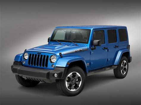 Jeep Wrangler Editions Jeep Wrangler Polar Limited Edition Revealed