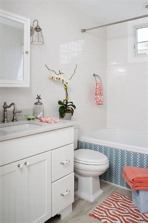 Blue and orange bathrooms images