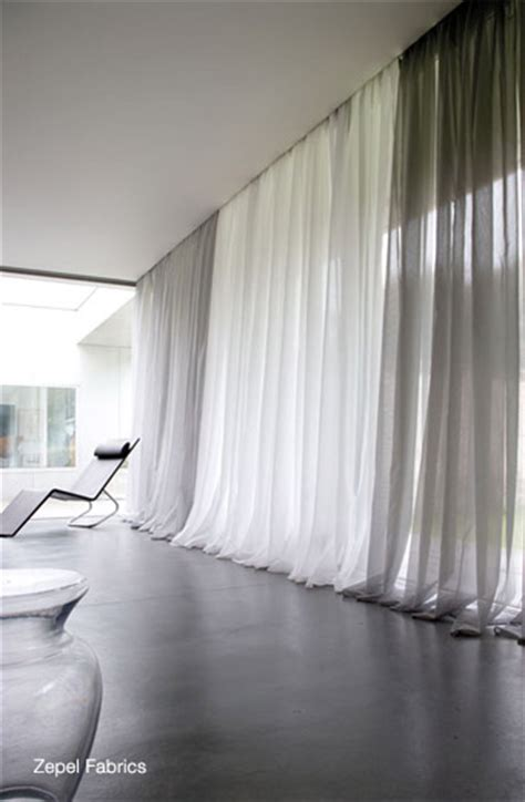 floor to ceiling modern grommet style sheer panels yelp flexitrack furnishings suppliers of blinds curtains tracks and motorisation