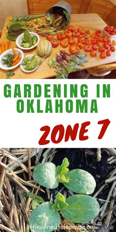 oklahoma vegetable gardening guide garden ftempo