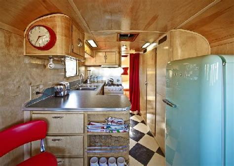 Vintage Travel Trailer Interior Pictures by Vintage Travel Trailers Rv Direct