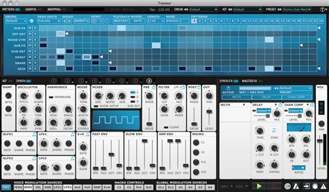 Drum Pattern Vst | kvr tremor by fxpansion drum machine vst plugin audio