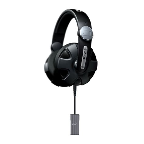 Headphone Sennheiser Hd 215 sennheiser hd 215 ii fiio k1