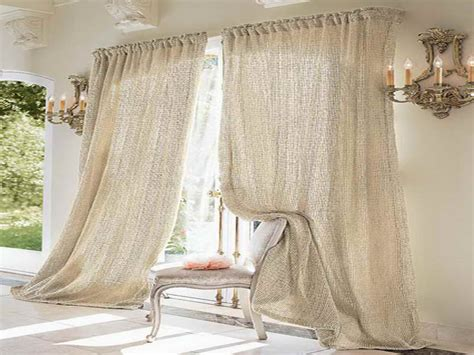 Product & Tools : Muslin Curtains DIY Ceiling To Floor